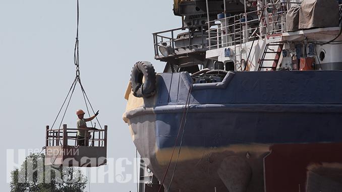 Нибулон, порт Николаева, судно, корабль
