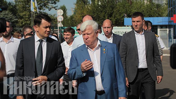 Алексей Вадатурский, Дмитрий Разумков