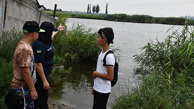 Трое подростков спасли утопающую женщину на Ингуле, новости Николаева, происшествия
