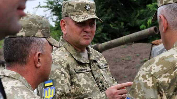 Залужный ООС, новости, запрет, Главнокомандующий ВСУ, Валерий Залужный, ООС, Украина, фронт, война,