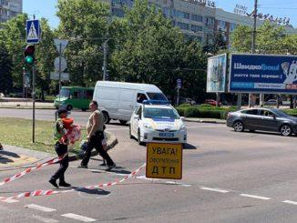 ДТП, Садовая, проспект Центральный, новости Николаева