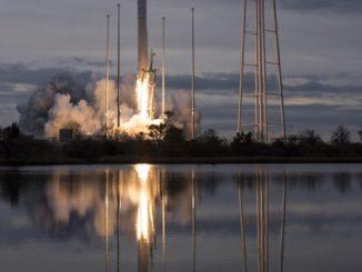 Antares, ракета, МКС, орбита, NASA