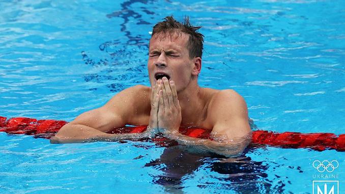 Михаил Романчук, плавание, Олимпиада в Токио