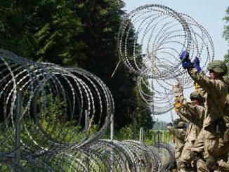 забор на границе с Беларусью, новости, Литва, Беларусь, граница, беженцы, нелегалы, мигранты, Лукашенко, гибридная атака, миграционный, кризис, новости, Европа