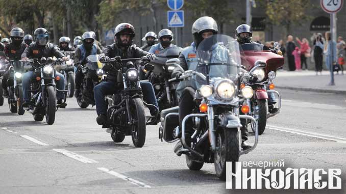 фестиваль, николаев, соборная площадь,байкеры, Bandidos МС, фото Александра Сайковского