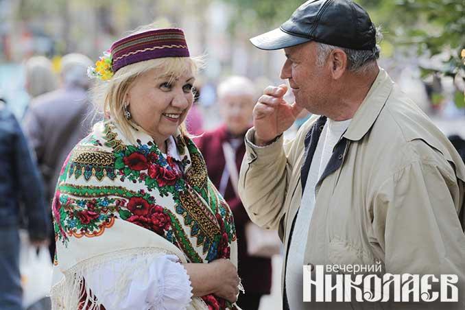 фестиваль, николаев, каштановый сквер, нацменьшинства, фото Александра Сайковского