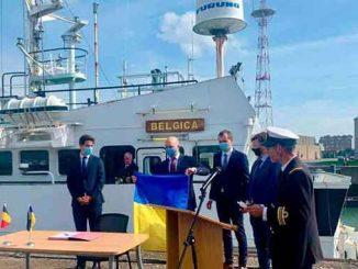 Бельгия передала Украине судно, новости, Бельгия, Бельгика, судно, мониторинг, окружающая среда, море, экология, загрязнения, исследования, экосистема, Украина, Черное море, Азовское море,