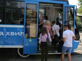 Новый трамвай, новости Николаева, День города