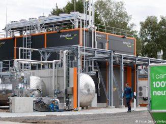 В Германии начали производство керосина из воды