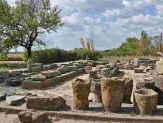 в Ольвии склеп, Ольвия, археология, новости, экспедиция, раскопки, сарматы, погребение, склеп, Алла Буйских