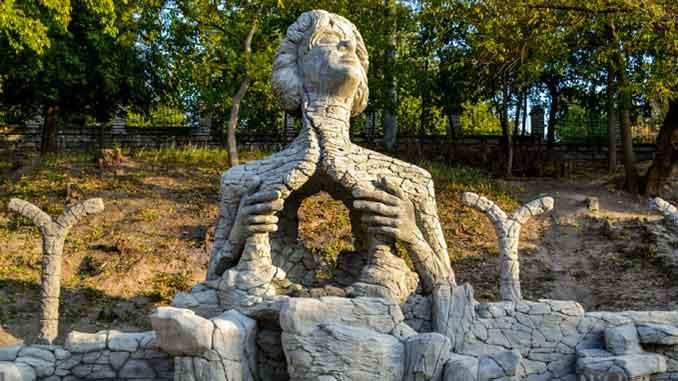 Скульптор, девушка, скульптура, искусство, новости, яхт-клуб, Николаев,