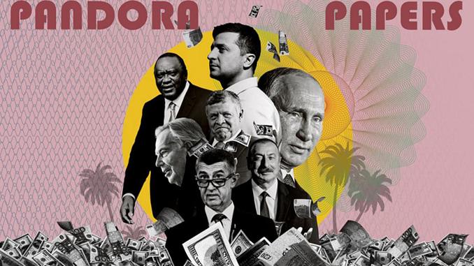 Досье Пандоры, Pandora Papers
