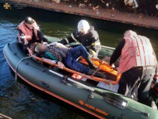 ГСЧС, происшествие, новости, спасатели, понтонный мост, Николаев