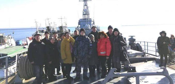 Корабль Юрий Олефиренко